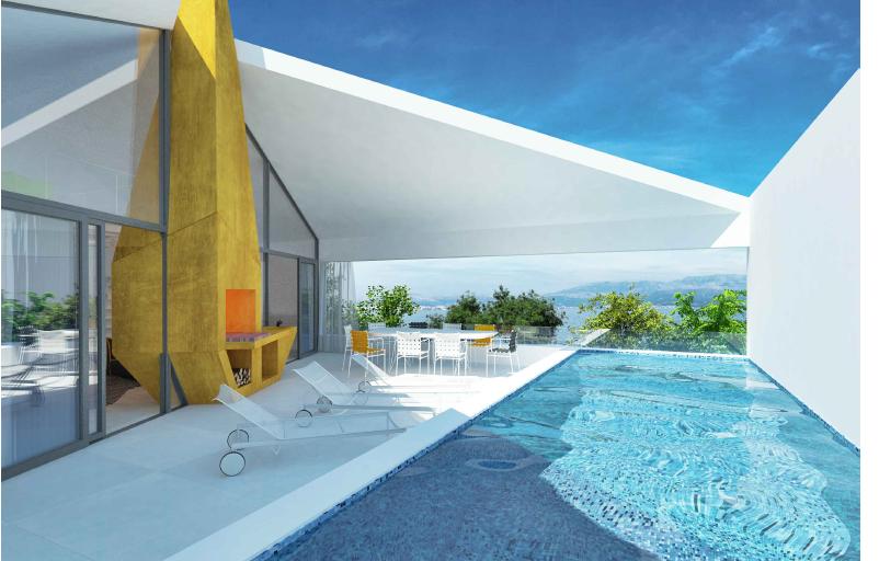 Villa in Brač, New Built