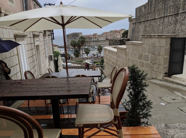 House With a Restaurant, Dubrovnik Old Town View