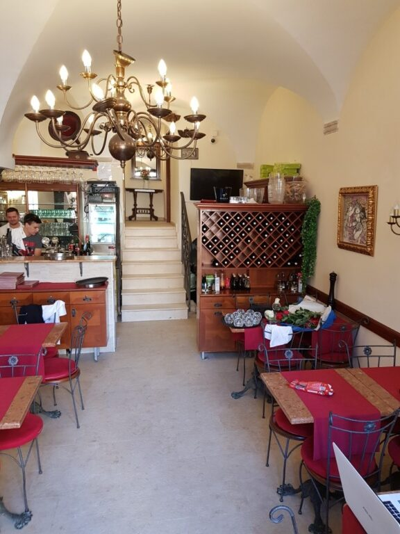 Restaurant in Dubrovnik Old Town, Main Street Stradun