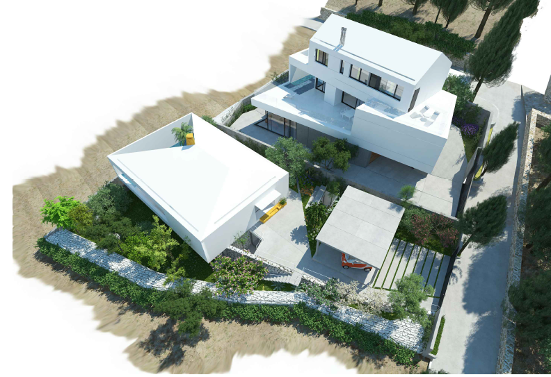 Villa in Brač, New Built