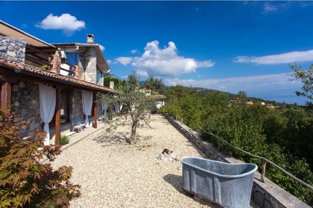 House in Istria, Sea View