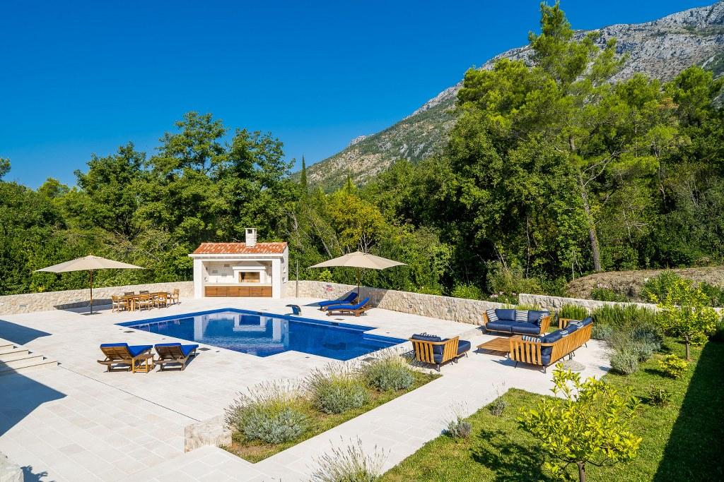 Mansion for sale, Dubrovnik,Croatia Europe,pool,stone house