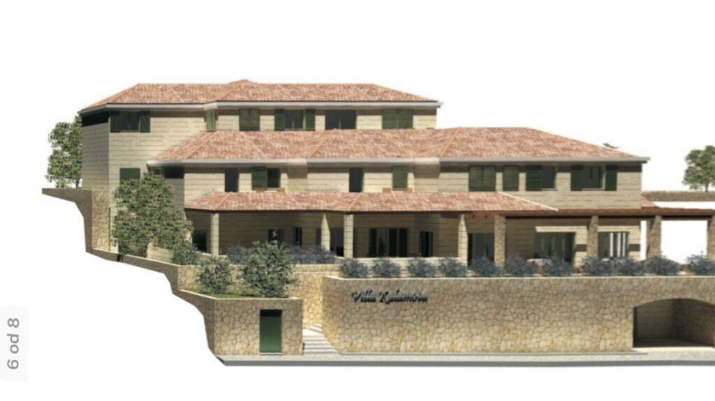 Mansion in Kolocep, Dubrovnik