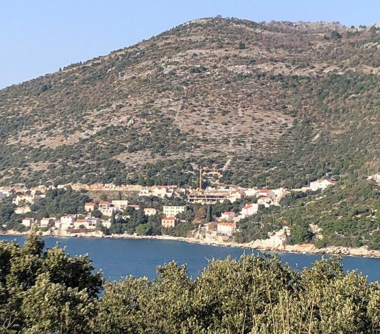 Seafront Builiding Plot in Dubrovnik