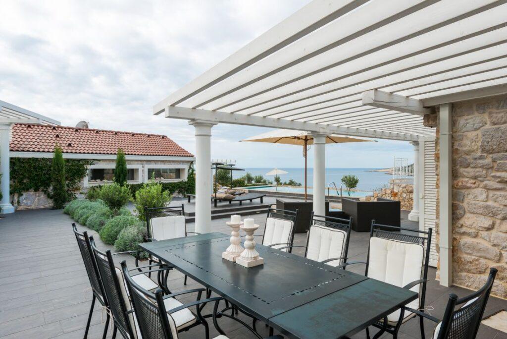 House in Split Region, Sea View