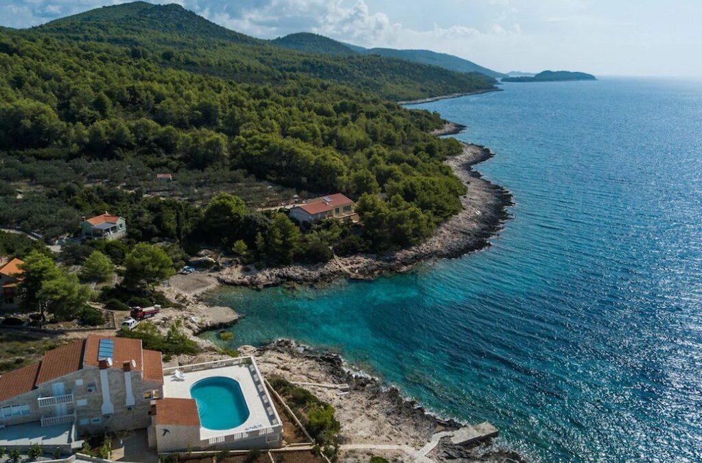 Seafront House on Korcula Island,Dubrovnik Region