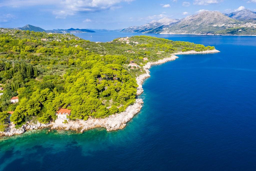 Seafront House on Kolocep Island, Dubrovnik Region