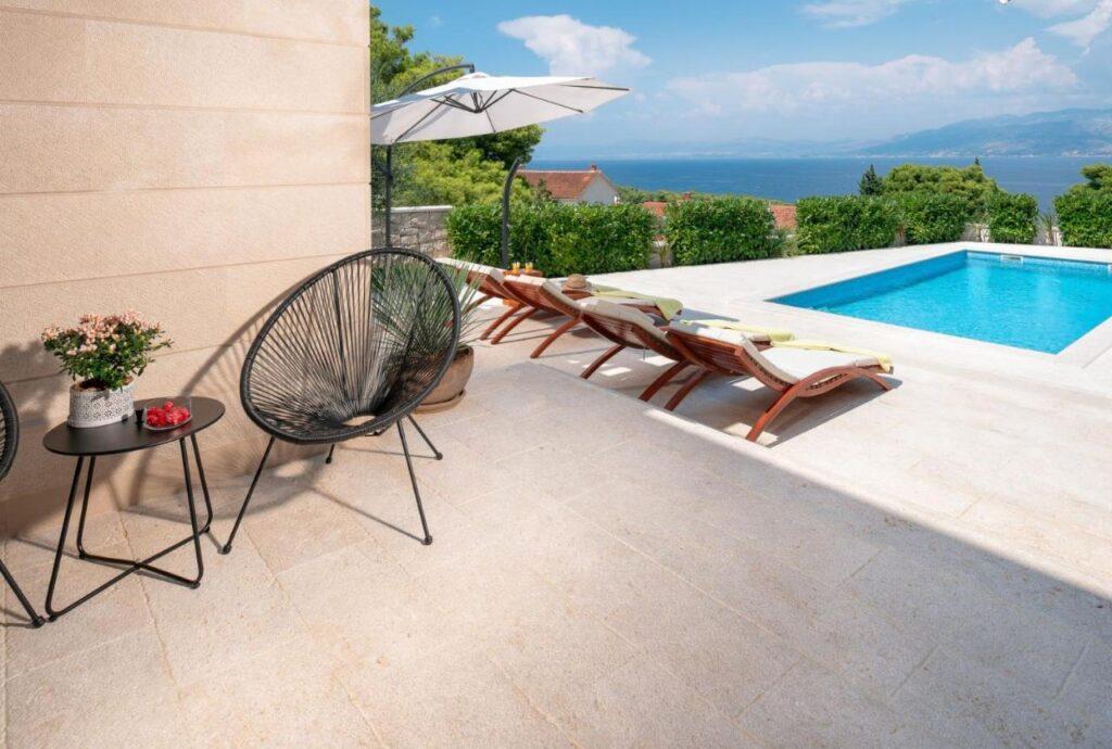 Sea View House On Brac Island Croatia
