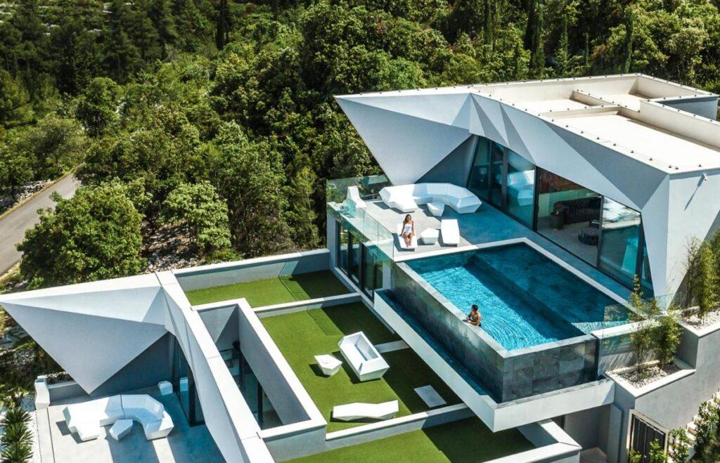 Sea view Villa on Korcula island