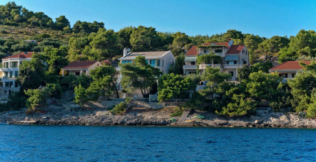 Seafront House on Brac Island