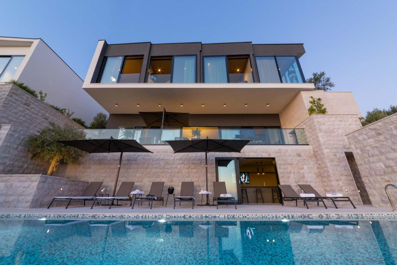 Sea view villa in Dubrovnik, Croatia, pool, modern home