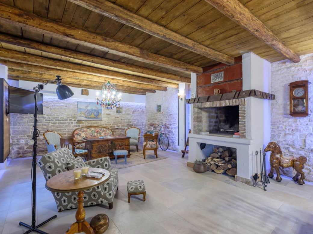 Stone house for sale in Istria, Croatia, swimming pool,