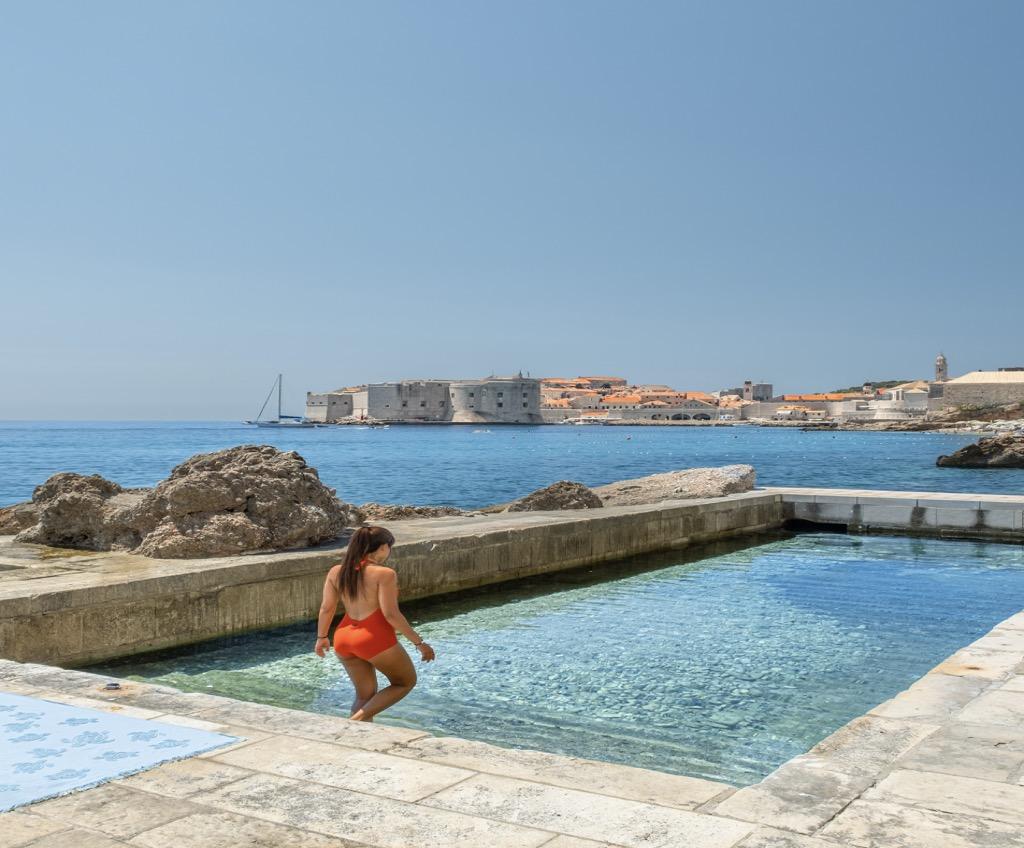 Seafront house Croatia Dubrovnik for sale pool garage sea view
