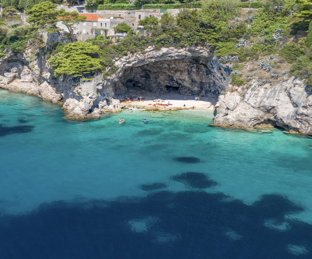 Stone house in Dubrovnik for sale, Croatia, close by sea, garage